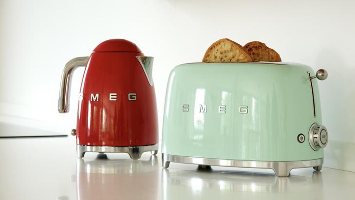 SMEG Toaster et Bouilloire